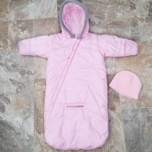 Other - Little Girls Columbia Hooded Snowsuit & Hat